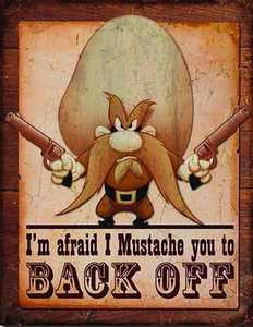 Nostalgic Images PD-1905 Yosemite Sam Metal Sign