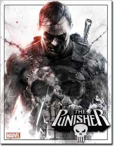 Nostalgic Images PD-2077 The Punisher Metal Sign