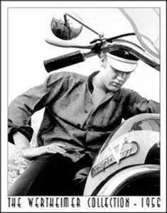 Nostalgic Images PD-948 Elvis Presley Bike Metal Sign