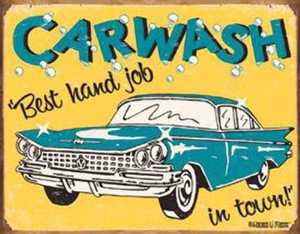 Nostalgic Images CD-1190 Carwash Metal Sign