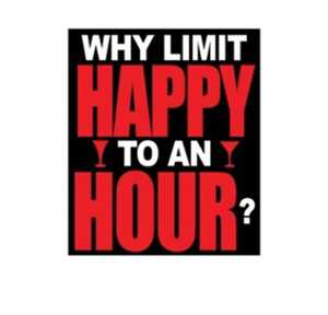 Nostalgic Images CG-804 Why Limit Happy Metal Sign