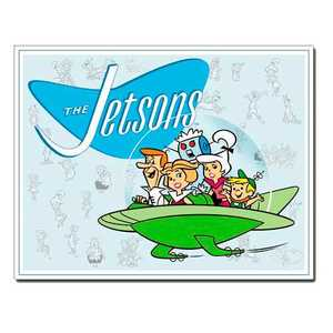 Nostalgic Images PD-1854 The Jetsons Metal Sign