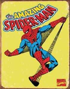 Nostalgic Images PD-1437 Spiderman Metal Sign