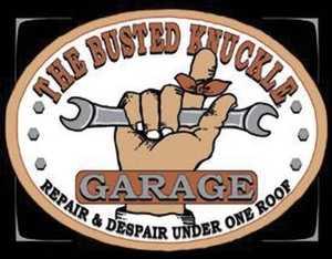 Nostalgic Images CD-980 The Busted Knuckle Garage Metal Sign