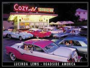Nostalgic Images TD-894 Cozy Drive inn Metal Sign