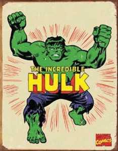 Nostalgic Images PD-1438 Hulk Retro Metal Sign