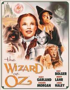 Nostalgic Images CD-1563 Wizard Of Oz Poster Metal Sign