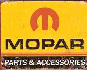 Nostalgic Images TD-1315 Mopar 1964 Logo Metal Sign
