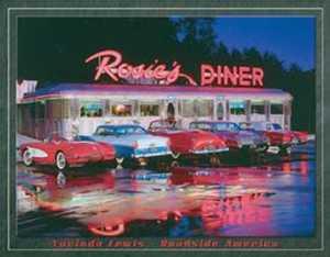 Nostalgic Images TD-1128 Rosie's Diner Metal Sign