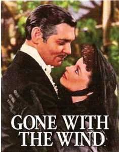 Nostalgic Images PD-1348 Gone With The Wind Metal Sign