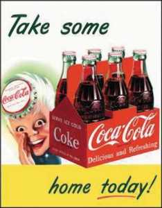 Nostalgic Images CC-1050 Coca-Cola Sprite Boy Metal Sign