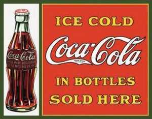 Nostalgic Images CC-1047 Coca-Cola Sold Here Metal Sign