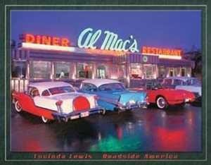 Nostalgic Images TD-1129 Al Mac's Diner Metal Sign