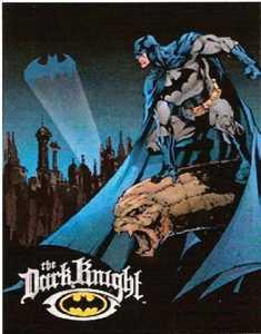 Nostalgic Images PD-1356 Batman Dark Knight Metal Sign