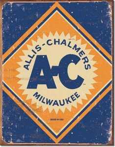 Nostalgic Images TD-1503 Allis Chalmers Logo Metal Sign