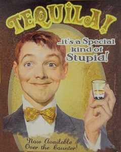 Nostalgic Images BG-760 Tequila Metal Sign