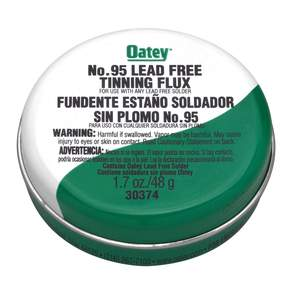 Oatey 303742 1.7-Oz No. 95 Tinning Flux, Lead Free