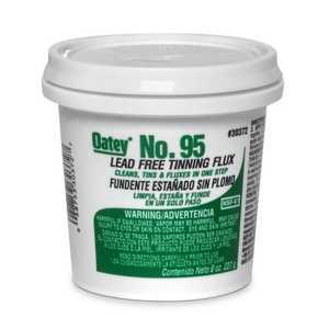 Oatey 30372 Tinning Flux #95 8 oz Lead Free