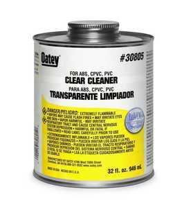 Oatey 30779 All Purpose Cleaner For ABS-Cpvc-Pvc 4 oz