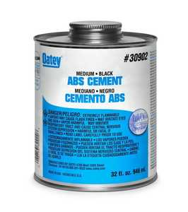 Oatey 30999 Cement For Abs Black 4 oz