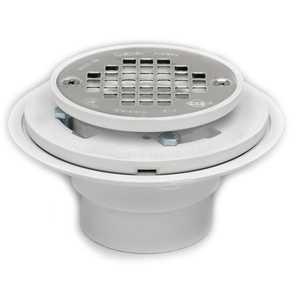 Oatey 42213 Shower Drain 2-3 in For Pvc Tile