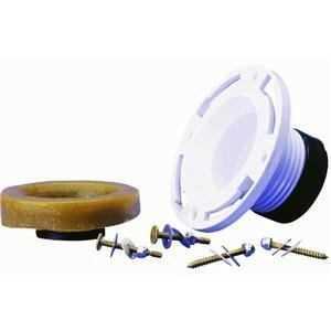 Oatey 43652 Flange Kit Wax Ring Twist N Set