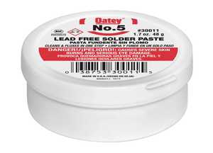 Oatey 30011 No. 5 Paste Flux 1.7 Oz