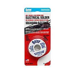 Oatey 50678 Rosin Core Wire Solder 60/40 1/2lb