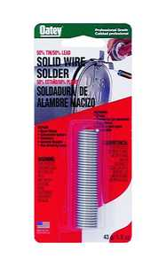 Oatey 53010 Solder Solid Wire 50/50 11/2 oz