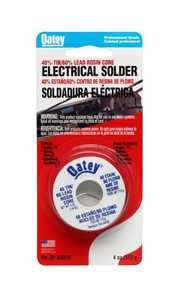 Oatey 53016 Solder Rosin Core 40/60 1/4lb