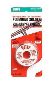 Oatey 53027 Solder 95/5 Solid Lead Free 4 oz Cd