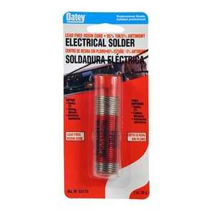 Oatey 53177 Solder Electrical 95/5 Lead Free 4 oz