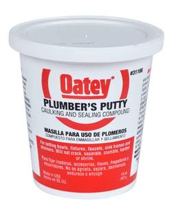 Oatey 31166 14-Ounce Plumber's Putty Caulking And Sealing Compound