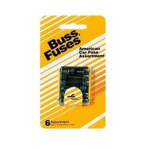 Bussmann Fuses UK-6 Amber Auto Fuse Assortment