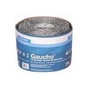 Bekaert Steel 7819071 Gaucho Barb Wire 4-Point High Tinsel