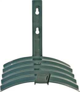 MintCraft GB-5227-3L Metal Wall-Mount Hose Hanger Matte Green