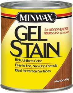 Minwax 66050000 Mahogany Gel Stain Quart