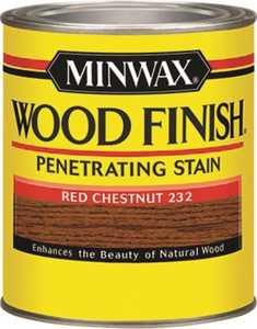 Minwax 22320 Red Chestnut Wood Finish Stain 1/2-Pint