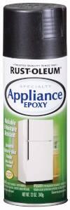 Rust-Oleum 7886830 Specialty Appliance Epoxy Spray Paint Black