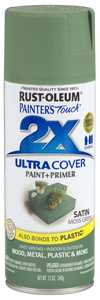 Rust-Oleum 249071 Painter's Touch Spray Paint And Primer Moss Green