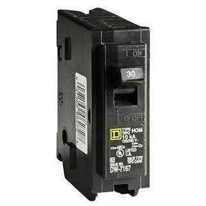 Square D HOM130CP Circuit Breaker 30a1pole