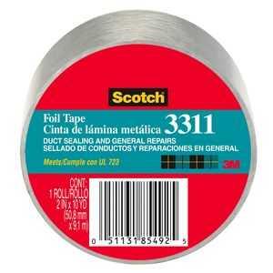 3M 3311-10A 2 in x10 Yard Scotch Foil Tape