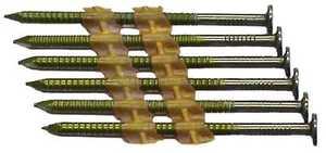 National Nail 0705670 3 x 120 Hot Dip Frame Nail Rs Plastic Stick