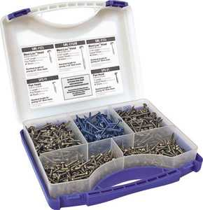 Kreg Tool SK03 Self Tapping Pocket Hole Screw Kit 675 Pieces
