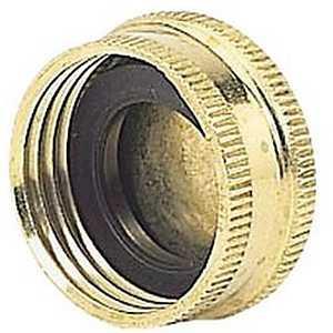 Gilmour 05HCC 3-Inch Brass Heavy Duty Hose Cap