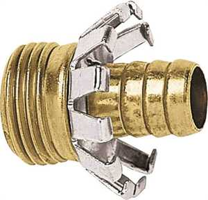 Gilmour C12M 1/2-Inch Brass Male Clinch Hose Coupler