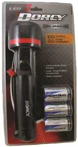 Dorcy International 41-2976 LED Rubber Flashlight