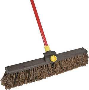 Quickie 00636 Bulldozer 24 in Rough Sweep Push Broom