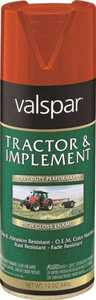 Valspar 5339-03 Interior/Exterior Tractor And Implement Enamel Spray Paint Allis Chalmers Orange High-Gloss Finish 12-Ounce Can