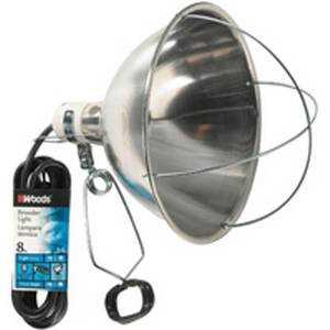 Coleman Cable 0167 18/2x8 ft Sjew Brooder Lamp